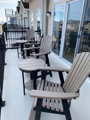 New deck furniture