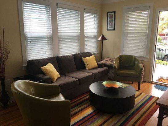 1st floor unit - living room