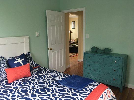 1st floor unit - bedroom 1