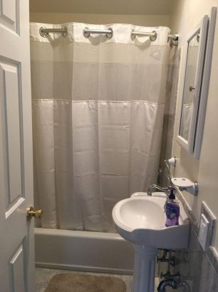2nd floor unit - bathroom