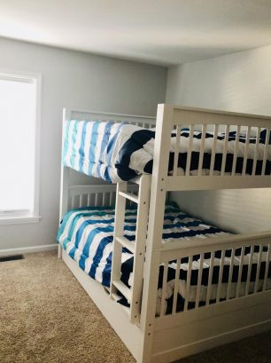 3rd Bedroom with Full on Full bunk bed and Twin Trundle bed