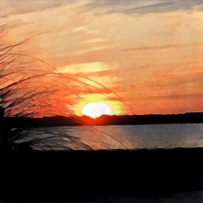 Sunset at Sunset Lake