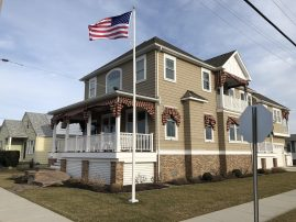 Custom Single Family Home in North Wildwood across from Henfey Park