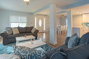 BRAND NEW BEACH BLOCK FULLY RENOVATED CONDO - PERFECT LOCATION BETWEEN MOREY'S PIERS