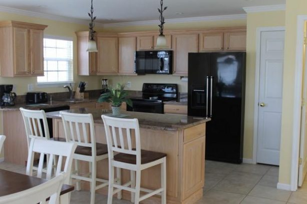 Kitchen island 1st floor with Pantry