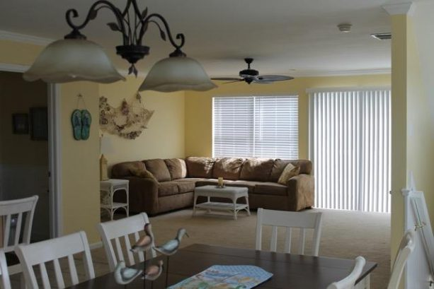 Living Room and Sliding Door to Deck