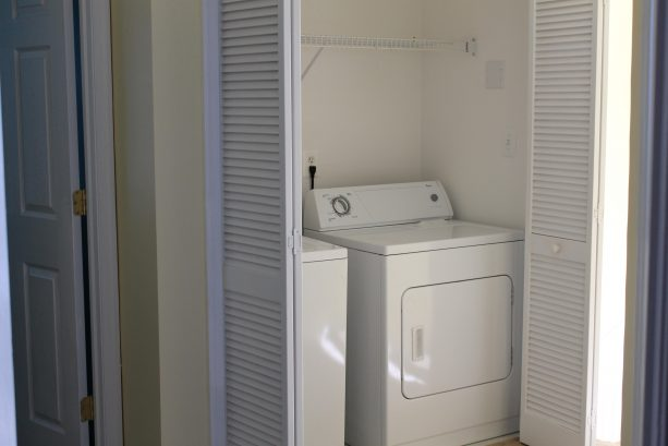 Laundry 2nd Floor, Washer & Dryer
