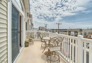 North Wildwood, 1 block to beach, fireworks from deck. Excellent location!!!