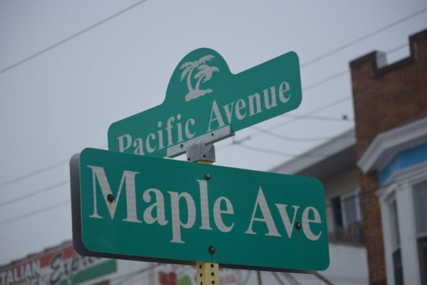 We Are Between Pacific and NJ Avenue
