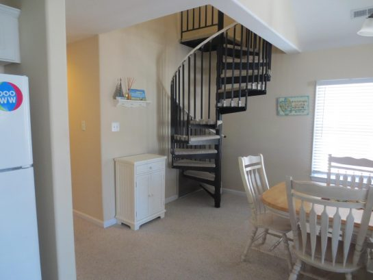 Spiral Staircase- Leads to Loft