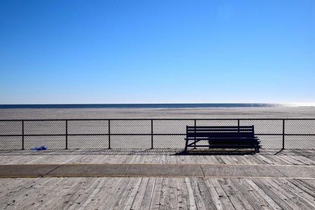 Beach- one block from condo