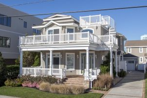 Stone Harbor CENTER OF TOWN, STEPS TO THE BEACH!