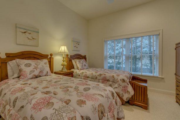 Bedroom #1 with Queen & Twin bed