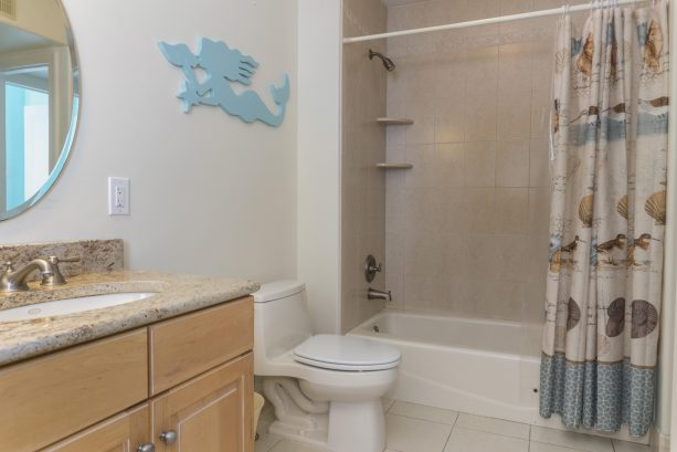 1st floor full bath with tub
