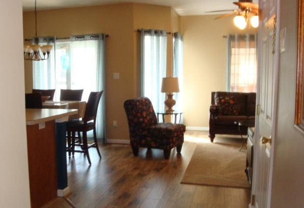 Another view of the living spaces.