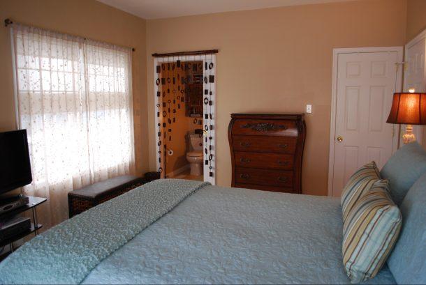 Master Bedroom with Master Bath behind pocket door