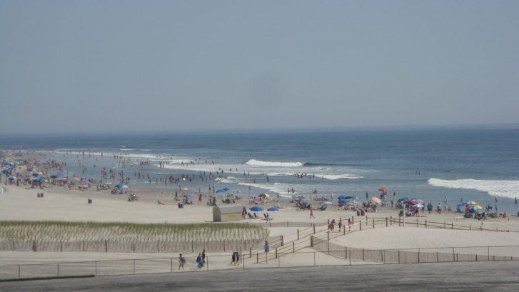 The Wildwood Beach is free - no beach tags needed here!