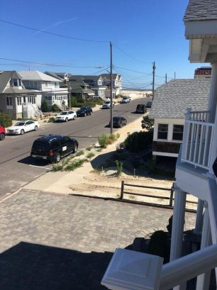 Second Floor Balcony view of beach