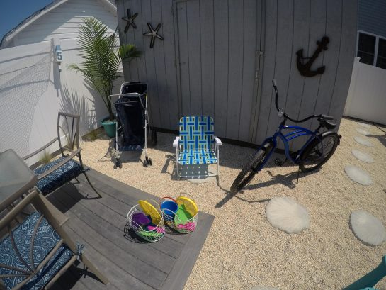 Beach cruiser, Beach chair, Beach cart & Beach toys available for guest use