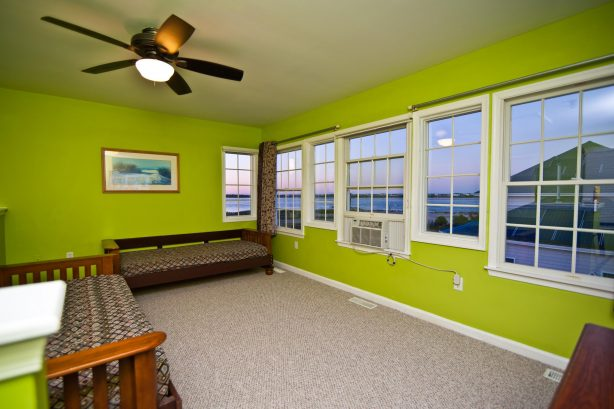 You will feel like royalty in your THIRD FLOOR loft! Not too many home have three stories but the Lucky Beach House does!! The bird eye views from this location of the ocean and inlet are incredible, you will not forget it! Use two very comfortabl...