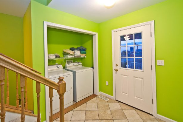 We have a Washer and Dryer available for your convenience. We provide laundry detergent! Use this door to take yourself outside the 2nd floor deck. The deck is Large with stunning Ocean, Water, and City views any time of day or night!
