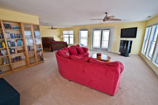 ❤️ Experience most likely the Largest Master Bedroom you have ever seen! The master bedroom has the square footage of some small homes! You will enjoy a very comfortable King Size Bed, there is a reading area (with many great books provided by us)...