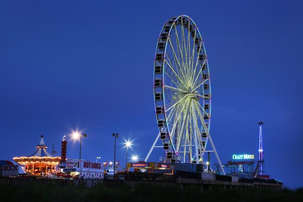 Steel Pier Amusement Park on the Atlantic City Boardwalk! Just Minutes Away!