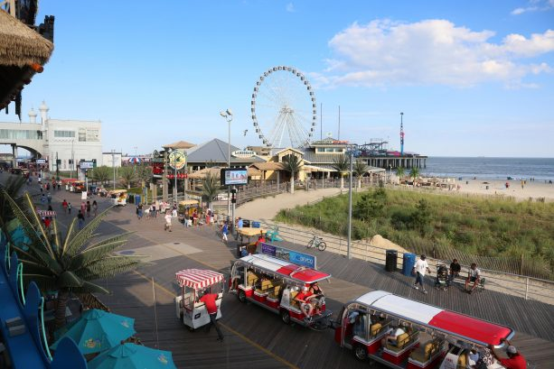 Great Rides at Steel Pier Amusement Part on the Atlantic City Boardwalk! Just Minutes Away!