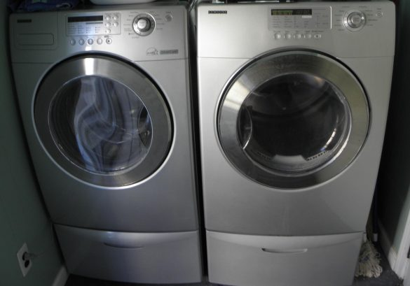 Brand new washer and dryer in 2019