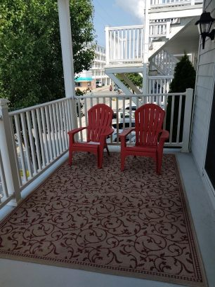 Front Deck off of Dining Room