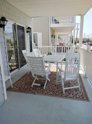Front Deck off of Living Room