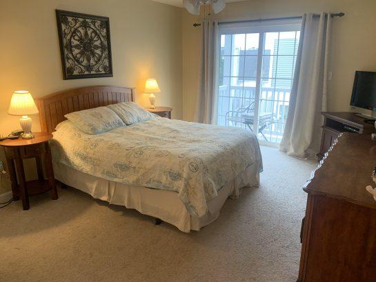 back deck in Master bedroom