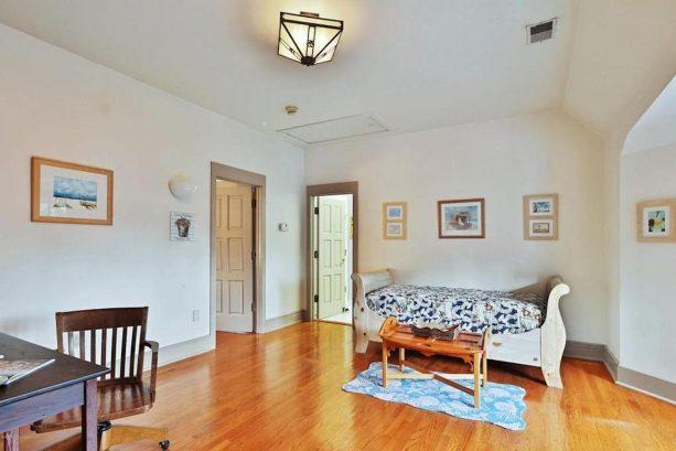 Living area of 2nd flr suite door to bedroom and bathroom