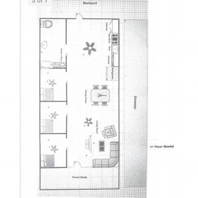 First Floor Rental