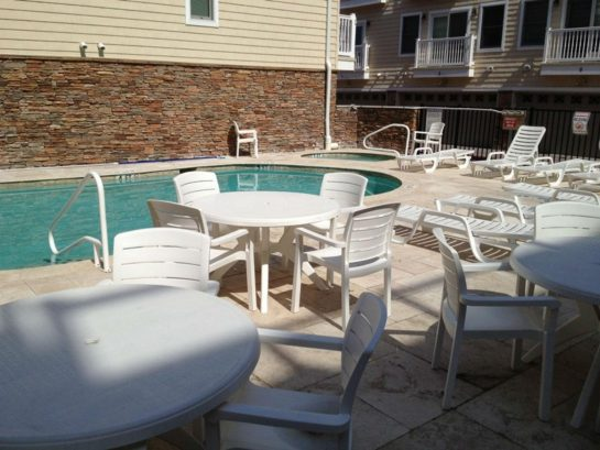 Townhouse community pool