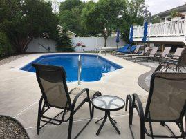 Spring Lake Summer Rental with pool