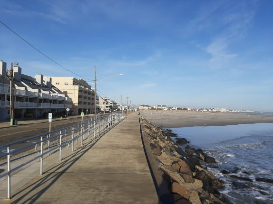 We love the seawall for walking along the ocean. Only 3-4 blocks away.