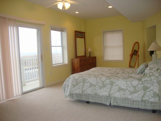 Ocean Front Upstairs Bedroom with private balcony Bedroom #4