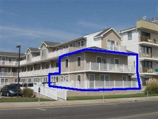 1500+ Square Feet Directly In Front Of The Beach