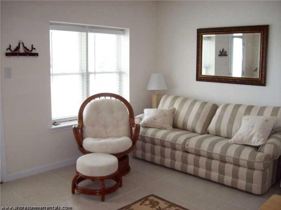 Queen size sofa in livingroom