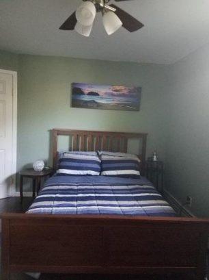 bedroom #2 with queen