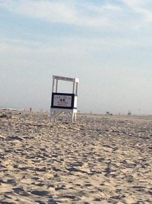 Famous Lifeguard stand